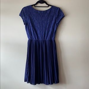 Francesca's Blue Alya Cocktail Dress